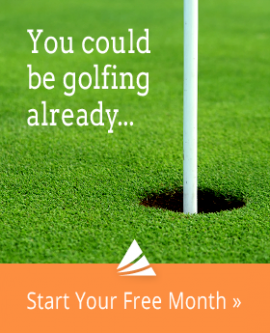You could be golfing already ...