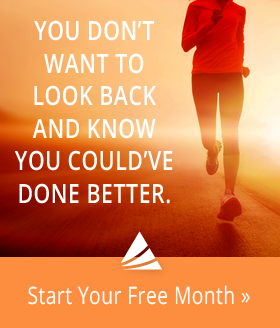 You don't want to look back and know you could've done better …